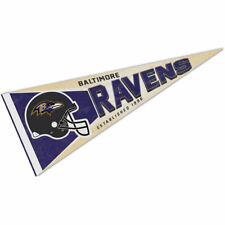 Baltimore Ravens Retro Vintage Logo Pennant Flag