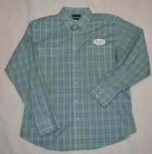 Wrangler Western Pearl Snap Shirt Size XL Plaid Rodeo Cowboy L/S