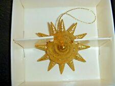 Margaret Furlong Gold Sunshell Ornament