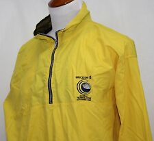 ERICSSON GLOBAL TECHNOLOGIES SOFTWARE R&D Pullover Wind Jacket XL Yellow