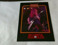 NUCLEAR ASSAULT Vintage Trading Card 1991 Heavy Metal Thrash Speed John Connelly