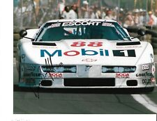 Autographed Darin Brassfield Trans-AM Auto Racing Photograph