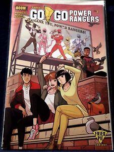 GO GO POWER RANGERS_Boom!_#3_rare Fried Pie variant cover by Gurihiru_NM