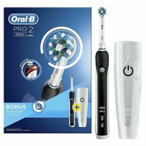 Oral-B Pro 22500 Braun Spazzolino Elettrico Ricaricabile White travel case
