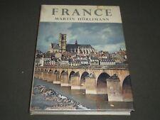 1967 FRANCE BOOK BY MARTIN HURLIMANN - NICE PRINTS - I 501