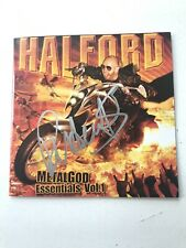 Rob Halford * Judas Priest * Autographed Cd Booklet From 2007 *No Cd*