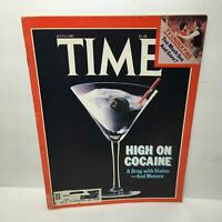 Time Magazine July 6 1981 High on Coccaine A Drug w/ Status-And Menace