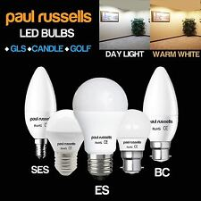 3w 25w Frosted LED Candle Ses E14 Day Light Pearl Energy Saver Bulbs Lamp