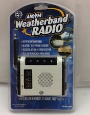 Electro Brand AM/FM Weatherband Radio #864 New Weather Updates
