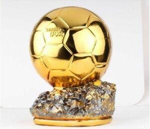 Resin Golden Ball 16cm height Player the Year Ballon d'Or Football GIft