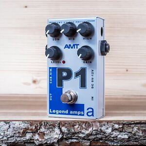 AMT Electronics P1 (Peavey) - guitar preamp (distortion/overdrive) effect pedal
