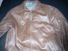 Polo Ralph Lauren Leather Jacket XXL Brown