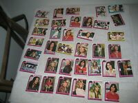 1977 CHARLIE'S ANGELS TRADING CARD LOT X 37 CARDS