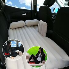 Car Inflatable Mattress Air Cushioned Back Seat Rest Sleep Bed Travel Outdoor UK