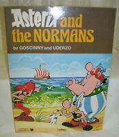 Cartoon Book Asterix and the Normans by Goscinny and Uderzo 1980