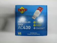 Original AVM FRITZ!WLAN Stick AC430 MU-MIMO bis zu 433 Mbit/s Dualband-WLAN NEU