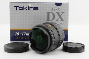 [Mint Tokina AT-X 107 DX FISHEYE 10-17mm F/3.5-4.5 Lens for Nikon F mount