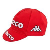 SAECO RETRO PRO CYCLING TEAM CAP - Vintage - Fixed Gear - Mario Cipollini
