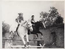 Britain's National Hunt Jockey Josh Gifford and Althea Roger Smith- Press Photo