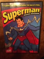 Superman Classic Cartoons (DVD, 2009)