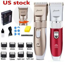 Professional Rechargeable Hair Clipper Trimmer Men Haircut Beard Grooming Kit