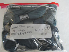Vintage DMC Taperstry 100% Wool Gray Blue 24pc
