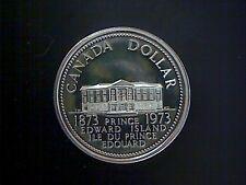 1873-1973 CANADA  PRINCE EDWARD ISLAND DOLLAR COIN, NICKEL CONTENT COIN,