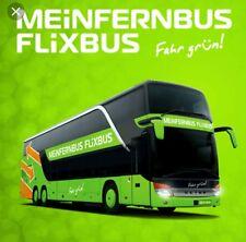▪▪2x3€ RABATT FlixBus/FlixTrain Discount Coupon - (2×) FlixBus GUTSCHEINE von 3€
