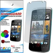 5 Pellicola Per HTC Desire 500 Proteggi Salva Schermo Display LCD Pellicole