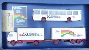Herpa H0 Set 50.Internationale Motor Show 1983 Frankfurt/M Used
