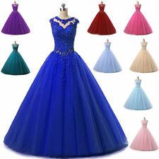 Quinceanera Dress Burgundy Ball Gown Long Prom Dresses Beaded Sweet 16 Dresses