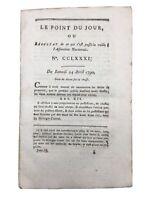 Corse «Un Peuple né pour l'indépendance» 1790 Rarissime discours Pascal Paoli
