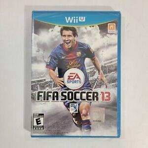 FIFA Soccer 13 (Nintendo Wii U, 2012) Sealed Brand New