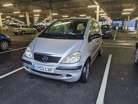 2003 Mercedes-benz A-class w168 A140 ULEZ 1.4 118k Cheap Van Learner