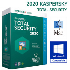 Kaspersky total security 2020 1 Device 1Year Mac & PC