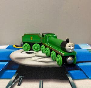 Thomas & Friends Wooden Railway Henry 1996 Flat Coal Tender Vintage Train