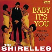 SHIRELLES-BABY IT'S YOU-JAPAN MINI LP CD BONUS TRACK C94