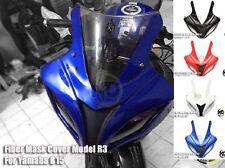 Yamaha YZF R15 Style R3 Windshield Wind Screen Fairing Headlight Light Lamp Mark