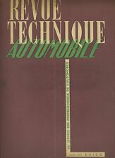 (35B)REVUE TECHNIQUE AUTOMOBILE BUICK 40 - 50 - 60 - 70 - 90/ CITROEN DIESEL 45