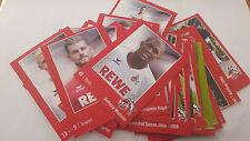 1. FC Köln - REWE - Sticker - 1 Karte - aussuchen.......