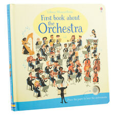 Usborne Musical Books First Book About the Orchestra by Sam Taplin (Board Book)