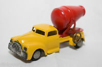 TEKNO DENMARK DODGE CEMENT TRUCK RED YELLOW VERY VERY NEAR MINT RARE SELTEN