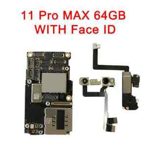 iPhone 11 Pro Max 64GB Unlocked Motherboard With Face iD