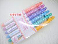 Pilot SFC-60M-6C2 FriXion Colors Erasable 0.7mm Marker Pen 6 Colors Set (Japan)
