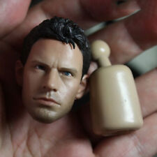 """1/6 Chris Redfield Head For 12"""" Figures Resident Evil Piers Toys A-04 Collection"""