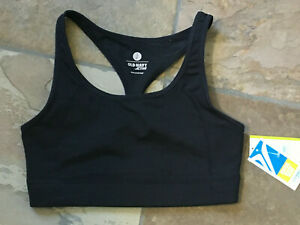 0920 OLD NAVY ACTIVE Small Racerback Pull On Wire Free Sports Bra NWT B