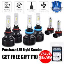 For Toyota Camry 2007-2014 6x H11 9005 LED Headlight Fog Light Combo Bulbs Kit