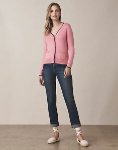New Crew Clothing Pocket Cardigan in Pink