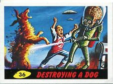 Topps 75th Anniversary Base Card 26 Mars Attacks
