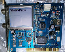 VisionPlus DVB VP-DTV Sat VP-1020 Digital FTA Satellite TV & Radio Comp PC Card